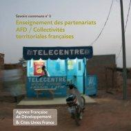 Savoirs communs n°3 - Agence Française de Développement