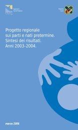 Sintesi risultati anni 2003-2004 - Agenzia di Sanità Pubblica della ...