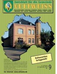 September 2010 - Gemeinde Vettweiss
