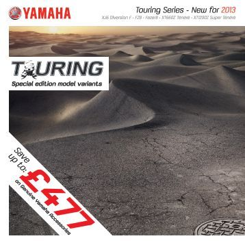 Touring Series Brochure - Yamaha Motor Europe