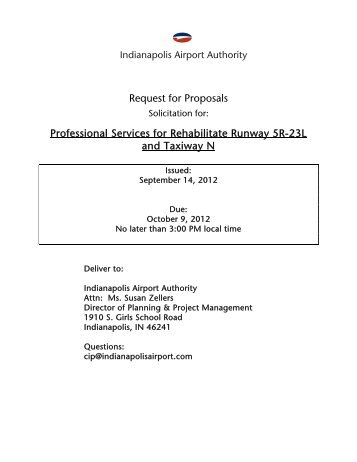 9.14.12 RFP - Rehab Runway 5R-23L TW N.pdf - Indianapolis ...