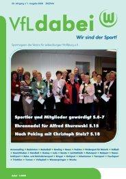24. Wolfsburger Volkstriathlon zugunsten der SOS ... - VfL Wolfsburg