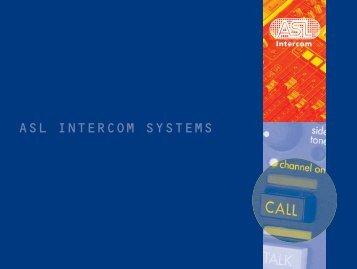 ASL INTERCOM SYSTEMS - Acuson
