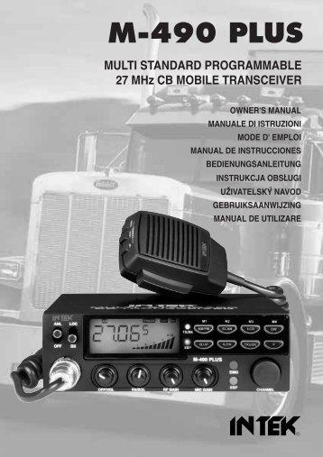 Man. M-490 PLUS 9 lingue - Free
