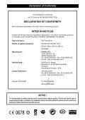 Man. M-490 PLUS 9 lingue - Free - Page 2
