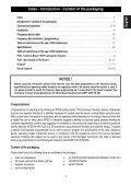 Man. M-490 PLUS 9 lingue - Free - Page 3