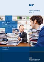 R+V-VersicherungsCheck, Analysebogen (PDF) - volksbank-krp.de