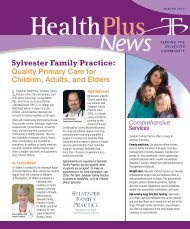 Sylvester Family Practice - Tift Regional Medical Center
