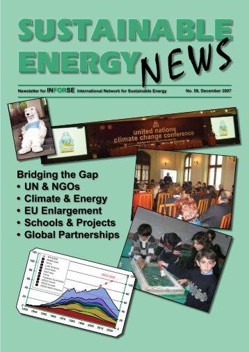 Bridging the Gap UN & NGOs Climate & Energy EU Enlargement ...