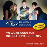 WELCOME GUIDE FOR IntERnatIOnaL StUDEntS