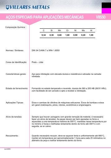 V8550 - Villares Metals
