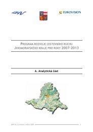A. Analytická část - Centrála cestovního ruchu - Jižní Morava
