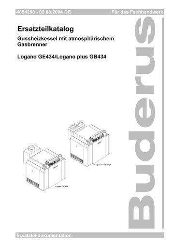 Stand: 02.08.2004 Inhaltsverzeichnis - Buderus