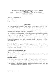 II Taller de Seguimiento Reglamento Sanitario Internacional, III Foro