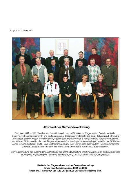 Frauen-Forum - Gemeinsam fr Mattsee - Ortsmarketing Mattsee