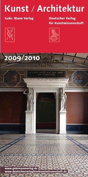 2009/2010 - Gebr. Mann Verlag