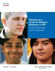 Working at a Small-to-Medium Business or ISP CCNA ... - SCTE