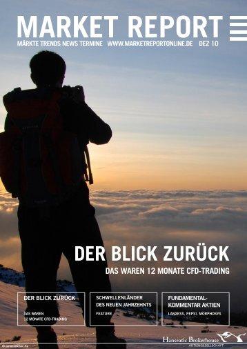 DER BLICK ZURÜCK - Hanseatic Brokerhouse