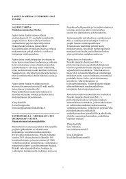 Lue uutiskirje tästä (PDF) - Mediakasvatus.fi