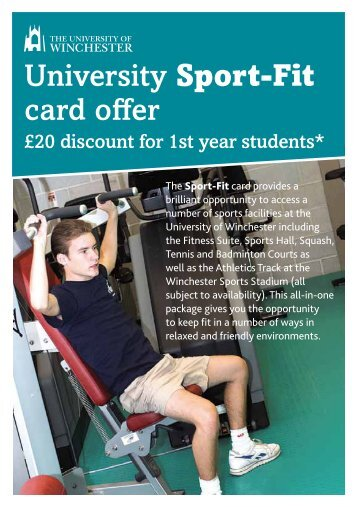 Sports Information - University of Winchester