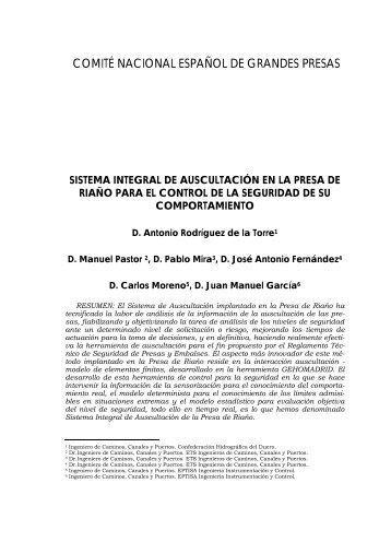 COMITÉ NACIONAL ESPAÑOL DE GRANDES PRESAS - spancold