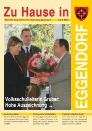Volksschulleiterin Gruber: Hohe Auszeichnung Seite 13