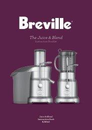 The Juice & Blend - Breville