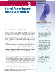 Accrual Accounting and Income Determination - Pearson Learning ...