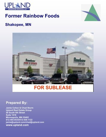 Former Rainbow Foods - Shakopee, MN - Upland Real Estate Group