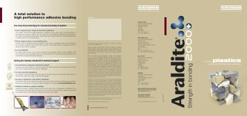 Araldite - Huntsman