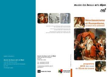 Néoclassicisme et Romantisme, - Musée des beaux-arts de Dijon