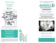 May 31 and June 1st Section Conference - International Childbirth ...