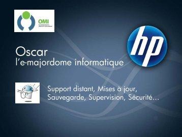 Oscar l'e-majordome informatique