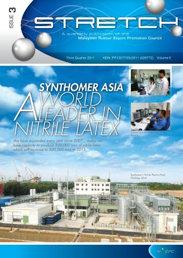 synthomer asia a world leader in nitrile latex - Mrepc.com
