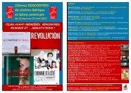 23èmes Rencontres cinéma ibérique et latino ... - Café des Images