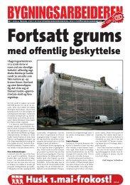 Bygningsarbeideren nr 1 - 2007.pdf - Oslo Bygningsarbeiderforening