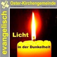 Gemeindebrief Nr. 4/2013 - Evangelische Oster-Kirchengemeinde ...