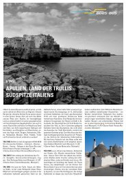 APULIEN, LAND DER TRULLIS – SÜDSPITZE ITALIENS