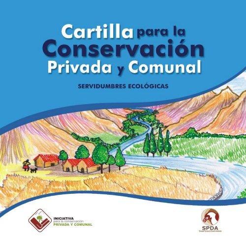 Cartilla Servidumbre Ecologica SPDA - CEDAF