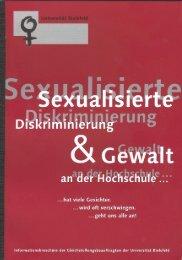 Sexualisierte Diskriminierung & Gewalt an der Hochschule (PDF