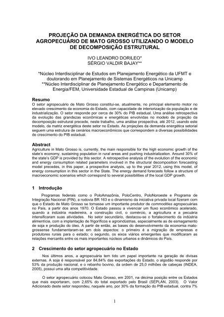 agr - SciELO Proceedings