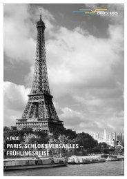 PARIS, SCHLOSS VERSAILLES – FRÜHLINGSREISE