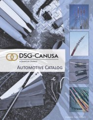Automotive Catalog - DSG-Canusa