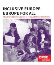 INCLUSIVE EUROPE, EUROPE FOR ALL - Socialists & Democrats