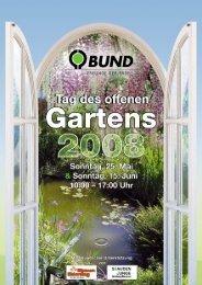BUND Gartentag 2008