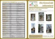 Die Gemeinde informiert! - Bad Deutsch-Altenburg