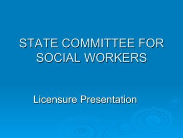State Committee for Social Workers (pdf)