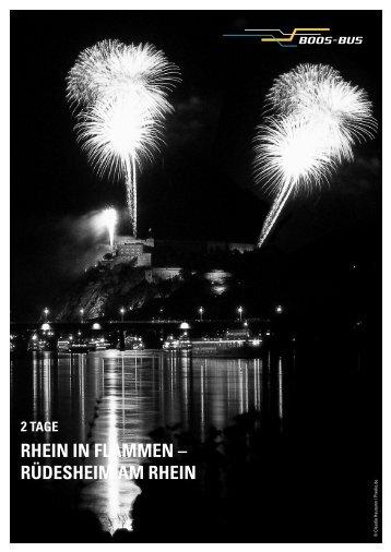 RHEIN IN FLAMMEN – RÜDESHEIM AM RHEIN