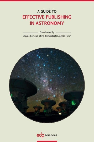 a guide to effective publishing in astronomy