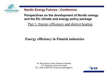 Energy efficiency in Finnish industries - Nordicenergyperspectives.org